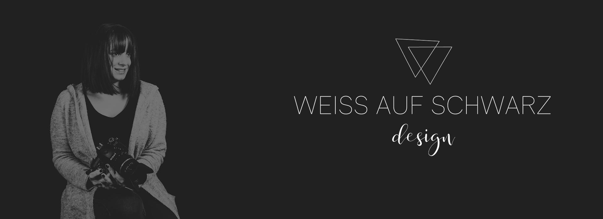 WEISS AUF SCHWARZ design